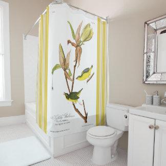 Shower Curtain John J. Audubon Kentucky Warbler