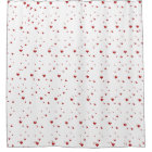 Shower Curtain, None-Little red hearts-Home Decor