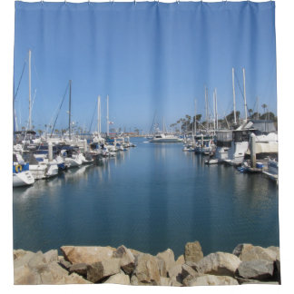 Shower Curtain--Oceanside Harbor