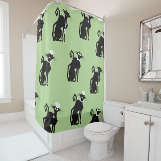 Shower Curtain - Professional Cats