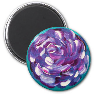 Shower Me With Flowers 2 Inch Round Magnet