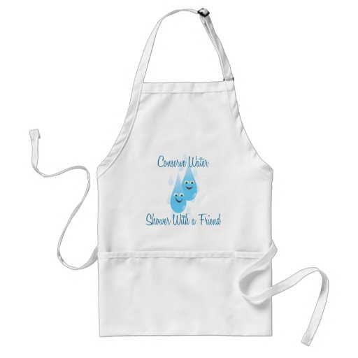 Shower With A Friend Apron