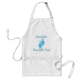 Shower With A Friend Standard Apron