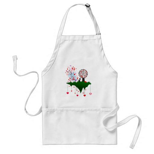 Shower with Love Apron