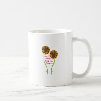 Showers Bring Flowers Classic White Coffee Mug