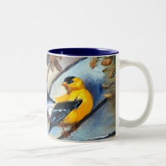 Showing Off Bird Mug