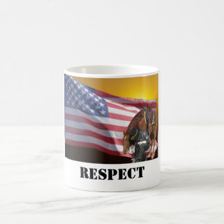 Showing Respect Coffee Mug