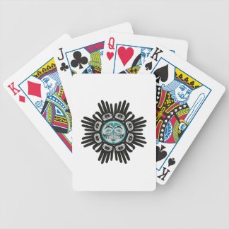 SHOWS THE WAY POKER DECK
