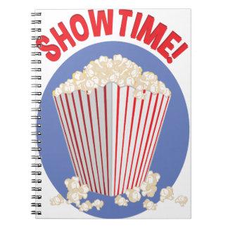 Showtime Spiral Notebook