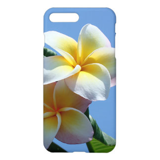 Showy Plumeria Frangipani Blooms iPhone 8 Plus/7 Plus Case