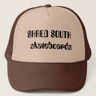 SHRED SOUTH  skateboards Trucker Hat