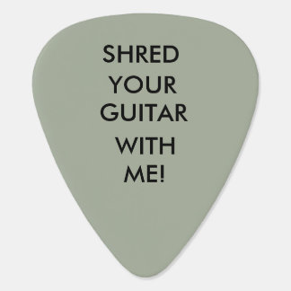 Shred Your Guitar With Me #1 Guitar Pick