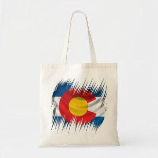 Shredded Colorado Tote Bag