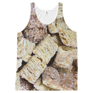 Shredded Wheat All-Over-Print Tank Top