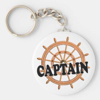 Shredders Captain Keychain