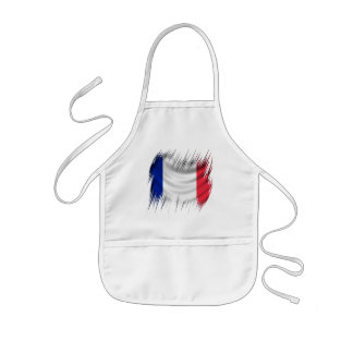 Shredders French Flag Kids Apron