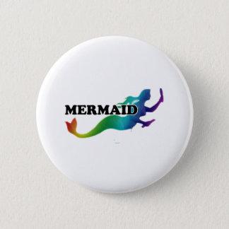 Shredders Mermaid 2 Inch Round Button