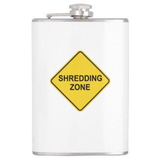 Shredding Zone Hip Flask