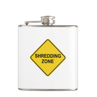 Shredding Zone Hip Flask
