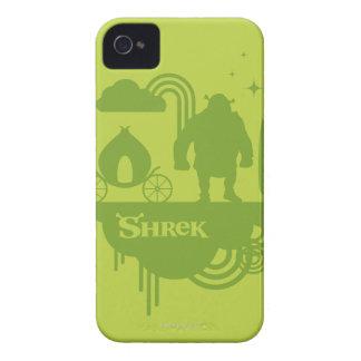 Shrek Fairy Tale Silhouette iPhone 4 Case-Mate Case
