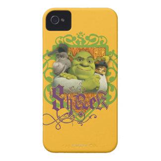 Shrek Group Crest iPhone 4 Cover