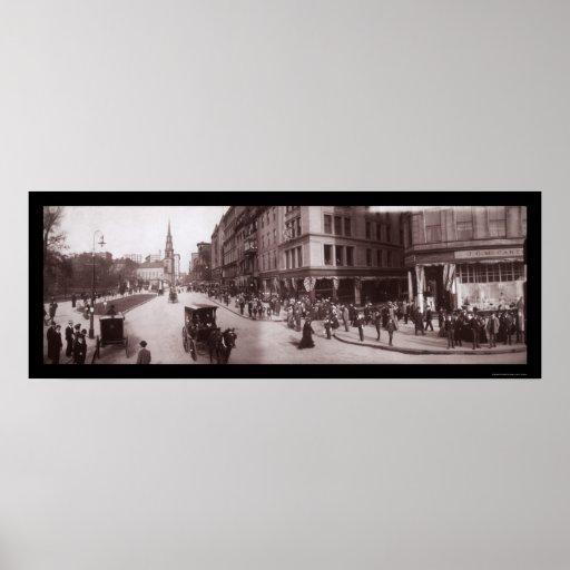 Shreve Store Boston, MA Photo 1903 Poster