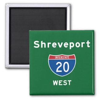 Shreveport 20 magnet