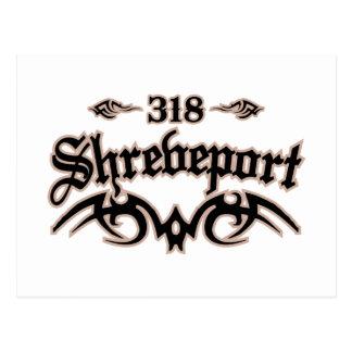 Shreveport 318 postcard
