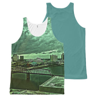 Shreveport All-Over-Print Tank Top