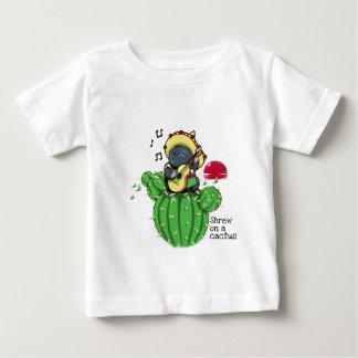 Shrew on a cactus baby T-Shirt