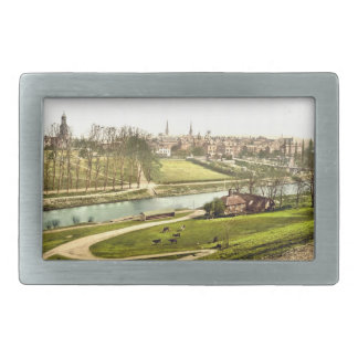 Shrewsbury, Shropshire, England Rectangular Belt Buckle