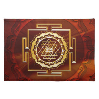 Shri Yantra - Cosmic Conductor of Energy Placemat