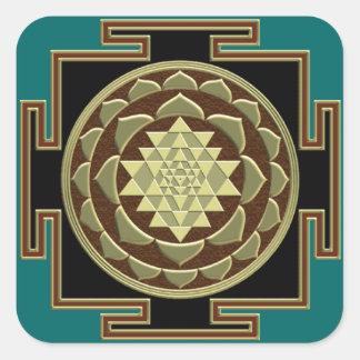 Shri Yantra sticker