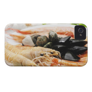Shrimp and mussels iPhone 4 cases