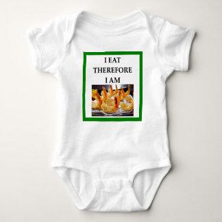 shrimp baby bodysuit