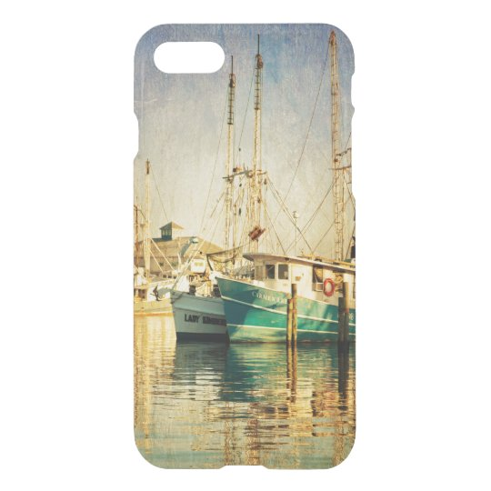 Shrimp Boat at the Harbour iPhone 7 Case