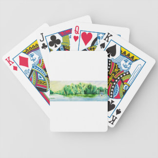Shrimp Boat Bicycle Playing Cards