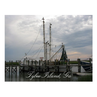 Shrimp Boat Postcard