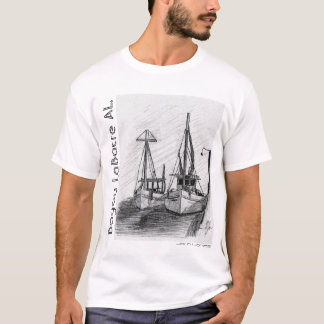 Shrimp Boats, Bayou LaBatre AL., John I. Jones T-Shirt