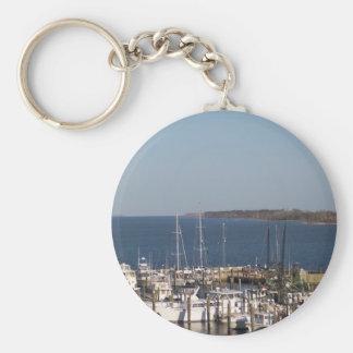 Shrimp boats keychain