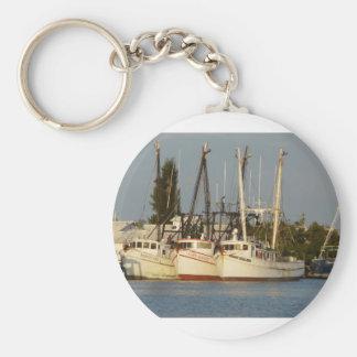 Shrimp Boats x three Keychain