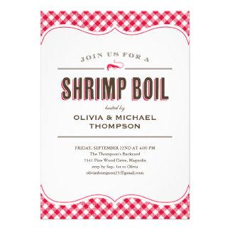 Shrimp Boil Invitations