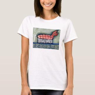 Shrimp Ebi Sushi T-Shirt by Campbell Jane