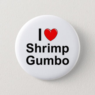 Shrimp Gumbo 2 Inch Round Button