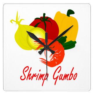 Shrimp Gumbo Clock