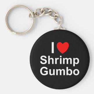 Shrimp Gumbo Keychain