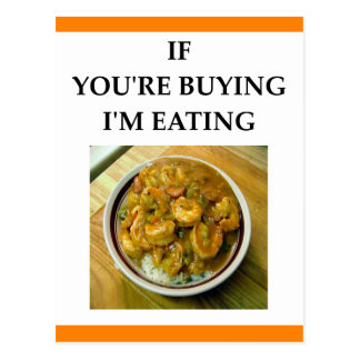SHRIMP GUMBO POSTCARD