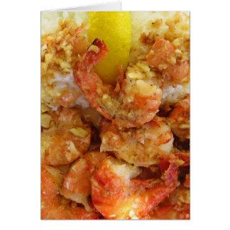 Shrimp Scampi Card