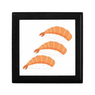 Shrimp Sushi Keepsake Box