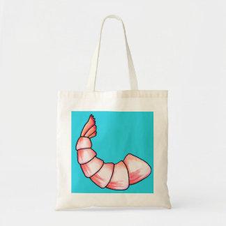 Shrimp tail tote bag